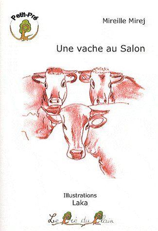 Une vache au salon