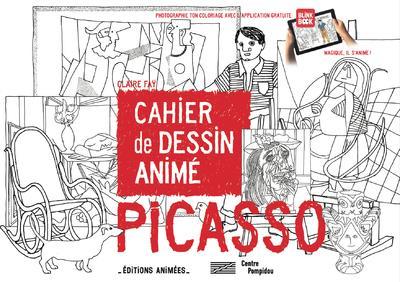 Cahier de dessin animé ; Picasso