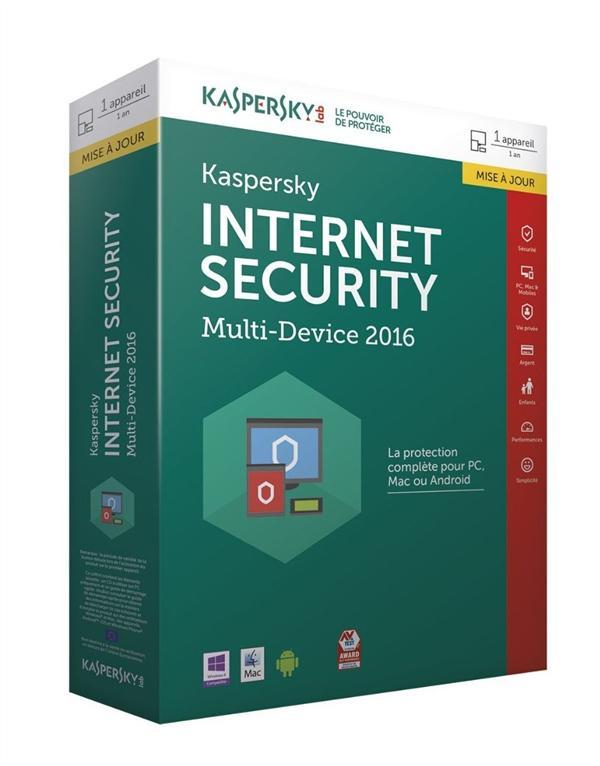 Kaspersky Internet Security 2016 (mise à jour)