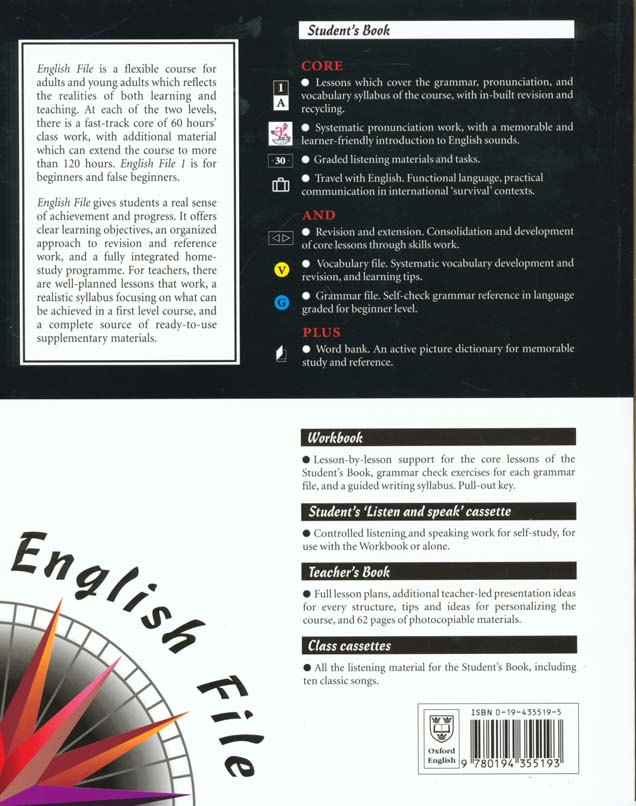 English file first's book