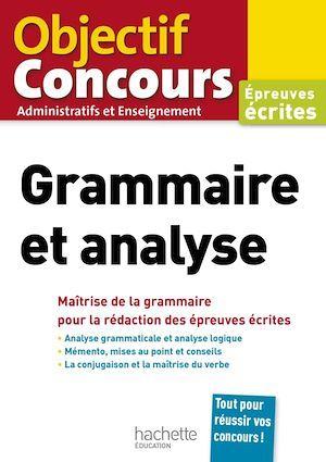 Objectif Concours Grammaire Et Analyse 2020 Albert Hamon Hachette Education Ebook Pdf Les Volcans Clermont Ferrand