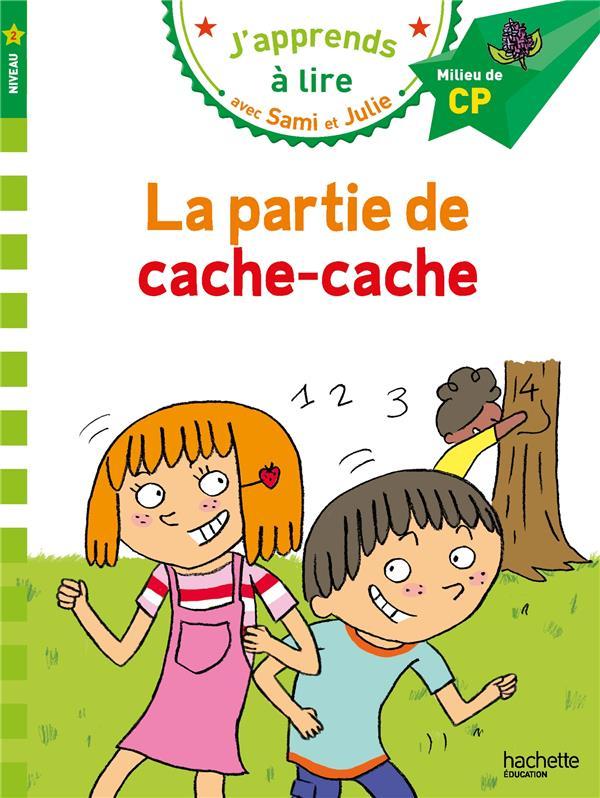 J'apprends à lire avec Sami et Julie ; la partie de cache-cache