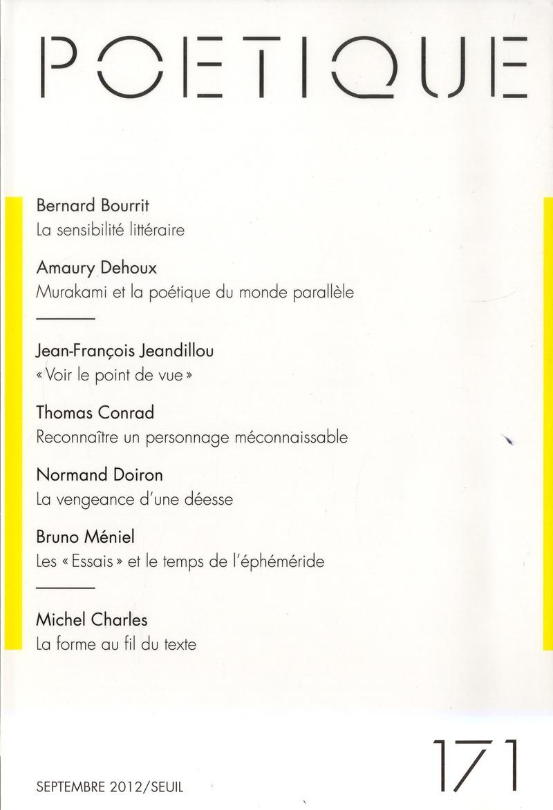 Revue poetique n.171