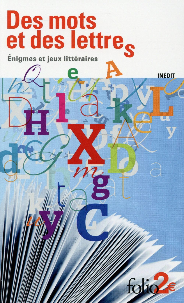 Des mots et des lettres ; énigmes et jeux littéraires