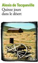 Vente Livre Numérique : Quinze jours dans le désert  - Alexis de TOCQUEVILLE
