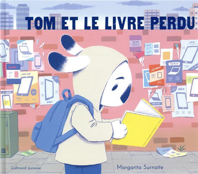 Tom Et Le Livre Perdu Margarita Surnaite Gallimard Jeunesse Grand Format Librairie Gallimard Paris
