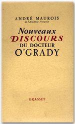 Nouveaux discours du docteur O'Grady