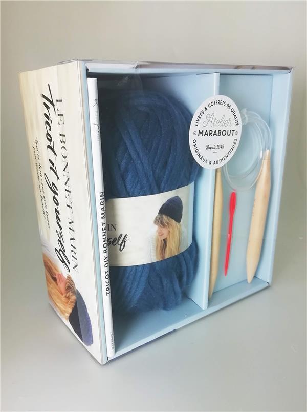 Coffret Bonnet Marin A Tricoter