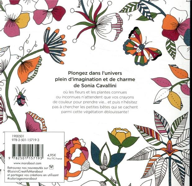 Botanique et petites bêtes ; une aventure dans la nature & un livre de coloriage