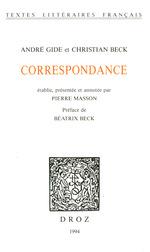 Vente Livre Numérique : Correspondance  - Pierre Masson - Christian Beck
