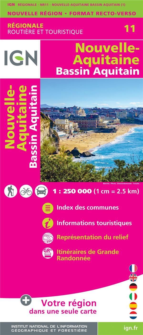 NR11 ; Nouvelle-Aquitaine, Bassin aquitain
