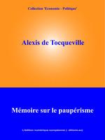Vente Livre Numérique : Mémoire sur le paupérisme  - Alexis de TOCQUEVILLE