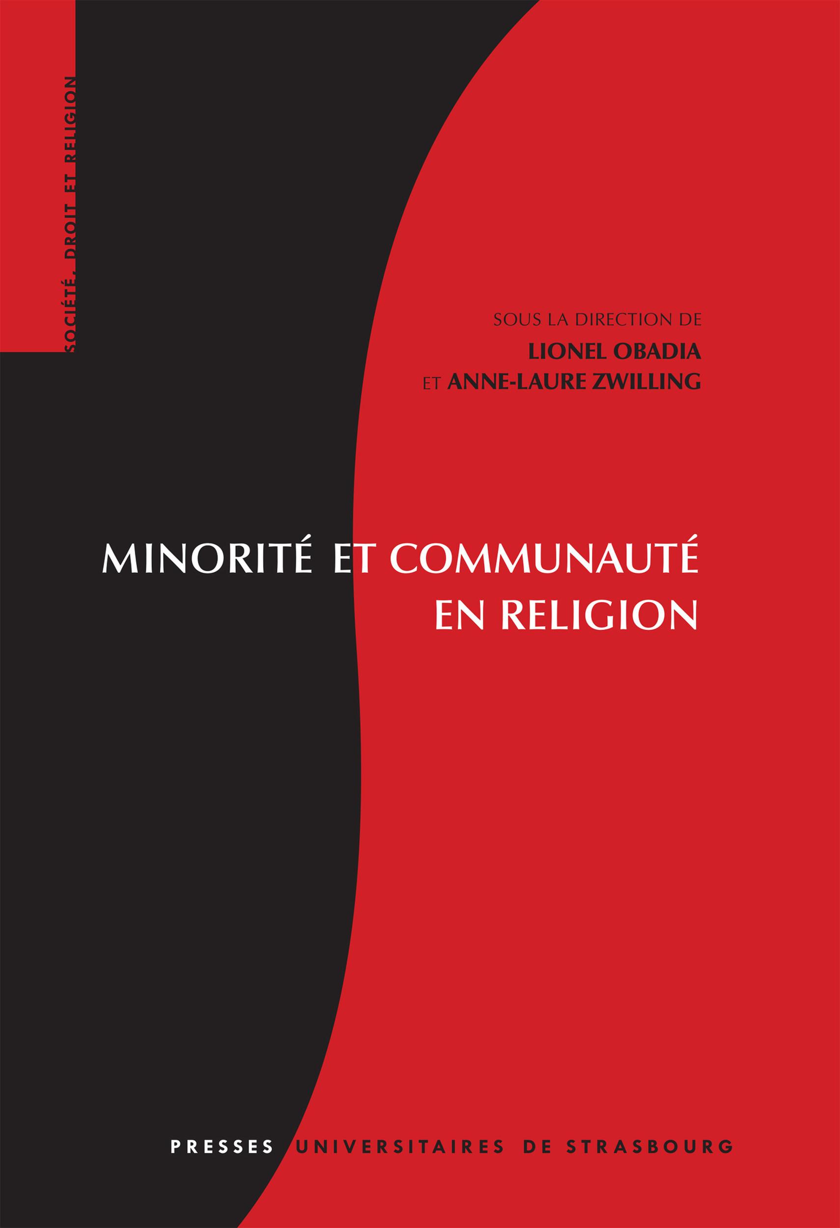 minorite et communaute en religion