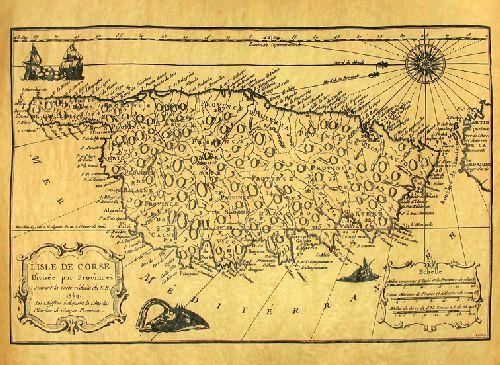 LA CORSE EN 1769