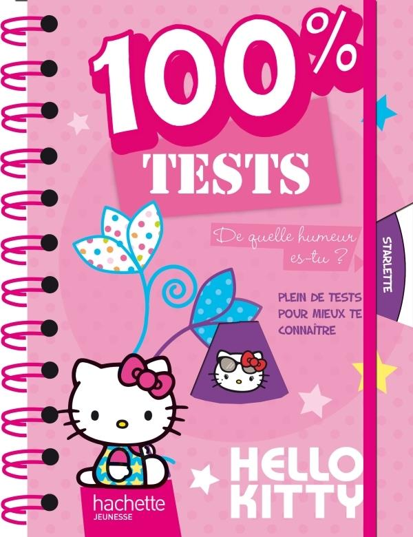 Hello Kitty ; Mon Carnet 100% Tests