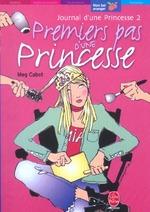 Couverture de Journal d'une princesse t.2 ; premiers pas d'une princesse