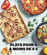 Vente Livre Numérique : Plats pour 4 à moins de 5 euros  - Sophie Dupuis-Gaulier