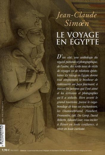 le voyage en Egypte