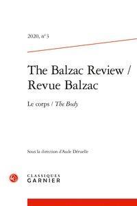 Revue Balzac T.3 ; 2020 ; le corps / the body
