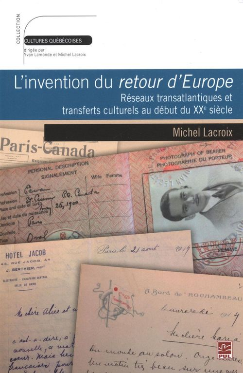 L'invention du retour d'europe: reseaux transatlantiques