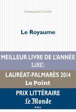 Vente Livre Numérique : Le Royaume  - Emmanuel CARRÈRE