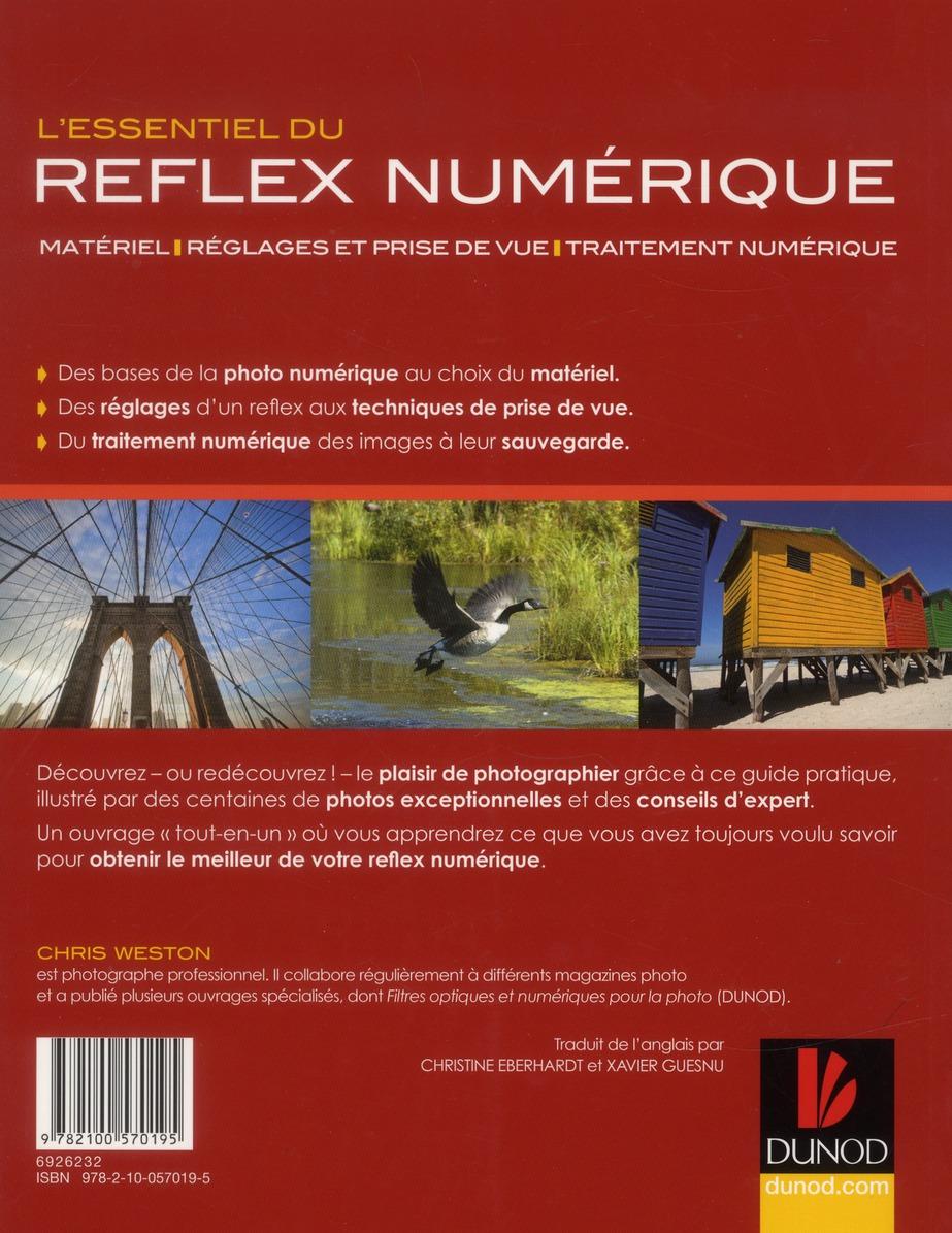 L'essentiel du réflex numérique ; matériel, réglages et prise de vue (2e édition)