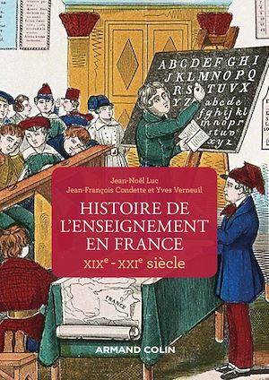 Histoire de l'enseignement en France ; XIXe-XXIe siècles