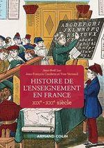 Histoire de l'enseignement en France - XIXe-XXIe siècle
