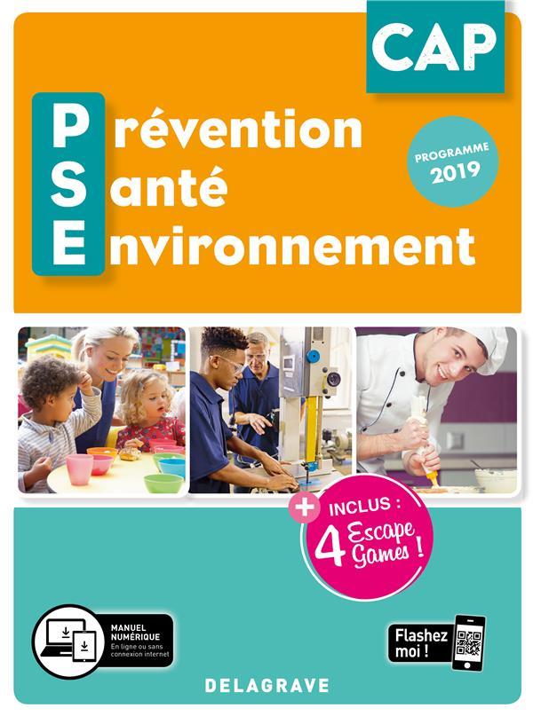 Prévention santé environnement PSE ; CAP ; pochette élève (édition 2020)