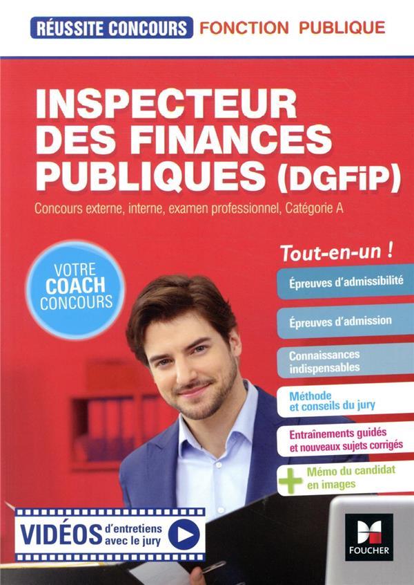 Réussite concours ; inspecteur des finances publiques (DGFiP) ; concours externe, interne, examen professionnel, catégorie A ; tout-en-un !