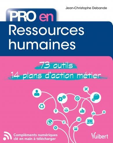 Pro en... ; ressources humaines ; 73 outils ; 14 plans d'action métier