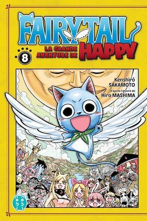 Fairy Tail - la grande aventure de Happy T.8