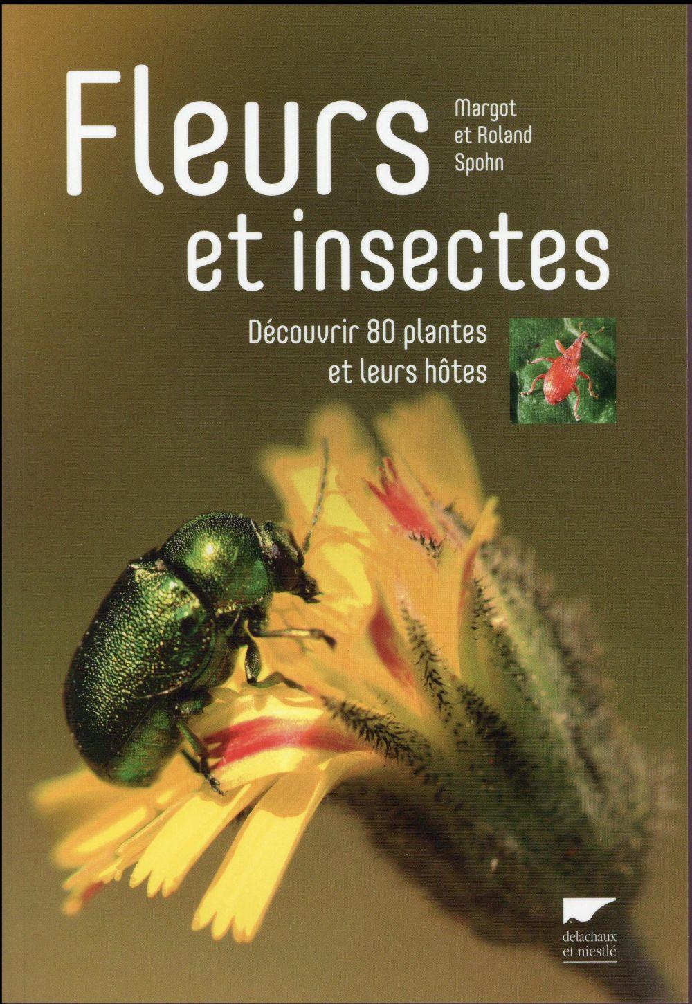 Fleurs et insectes ; découvrir 80 plantes et leurs hôtes