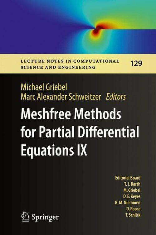 Meshfree Methods for Partial Differential Equations IX