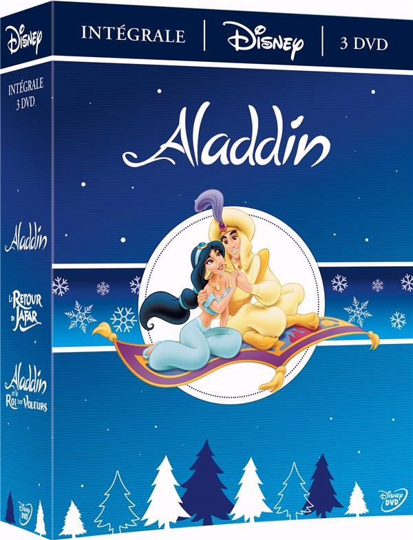 coffret Aladdin 3 films : Aladdin ; le retour de Jafar ; Aladdin et le roi des voleurs