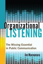 Organizational Listening  - Jim Macnamara