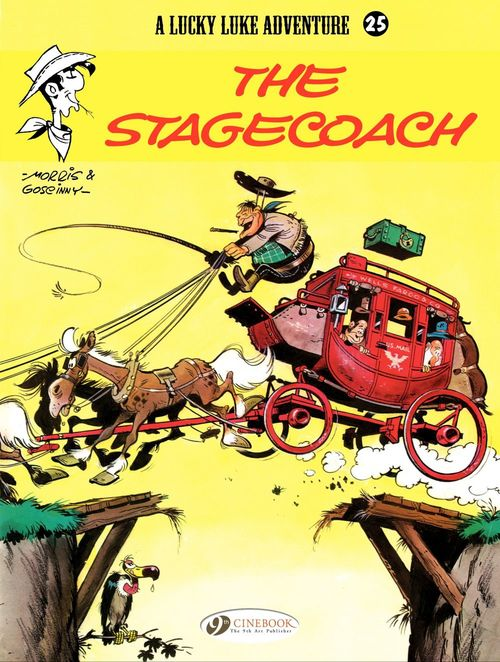 Lucky Luke T.25 ; the stagecoach
