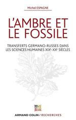 Vente Livre Numérique : L'ambre et le fossile - Transferts germano-russes dans les sciences humaines XIXe-XXe  - Michel Espagne