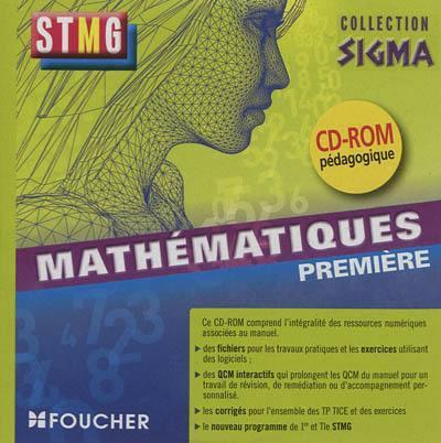 SIGMA ; mathématiques ; 1re ; bac STMG