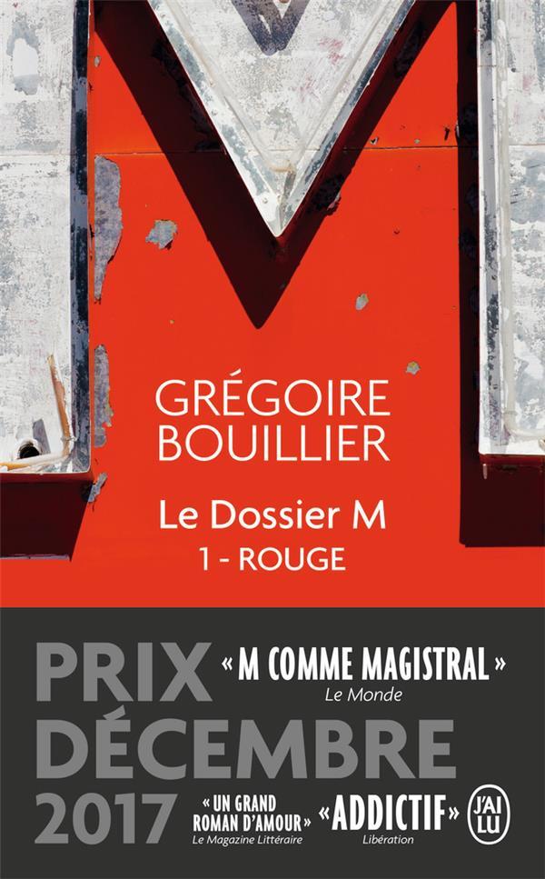 LE DOSSIER M T.1  -  ROUGE