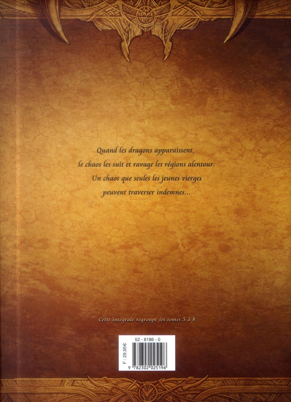 La geste des chevaliers dragons ; INTEGRALE VOL.2 ; T.5 A T.8