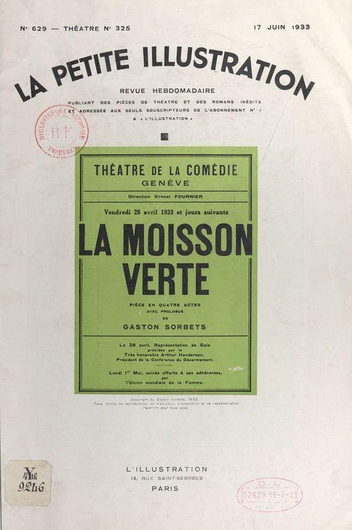 La moisson verte  - Gaston Sorbets