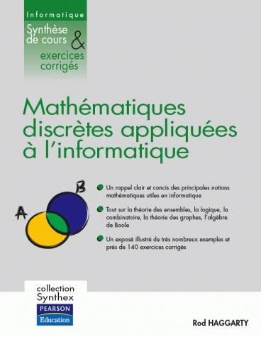 Mathématiques discrètes appliquées à l'informatique