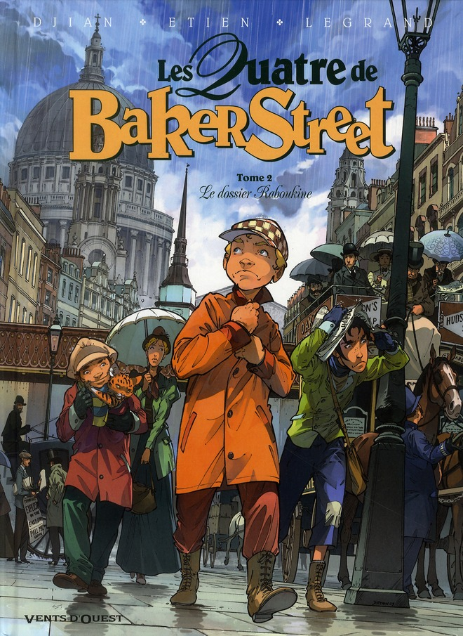 Les Quatre De Baker Street T.2 ; Le Dossier Raboukine