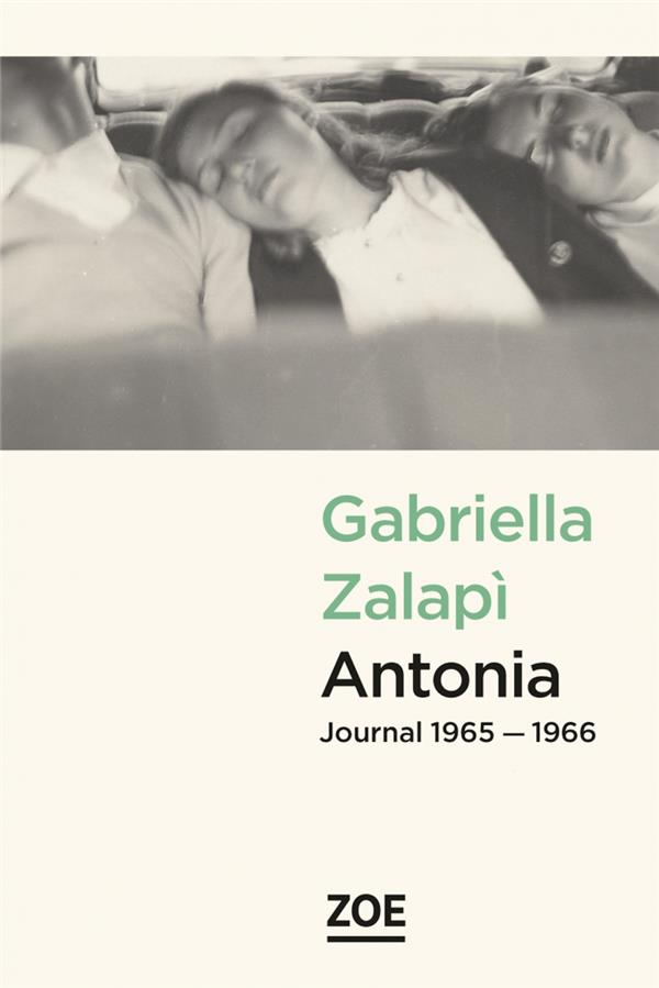 Antonia, journal 1965-1966