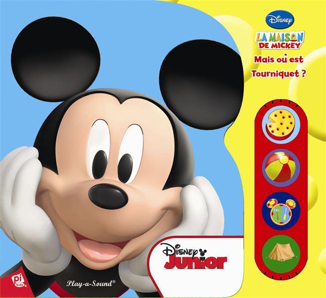 La maison de Mickey ; mais où est Tourniquet ?