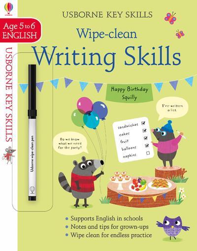 wipe-clean writing skills ; 5/6 ; wipe-clean key skills
