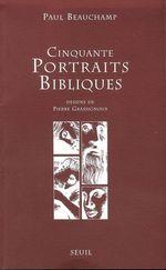 Vente EBooks : Cinquante Portraits bibliques  - Paul Beauchamp - Beauchamp