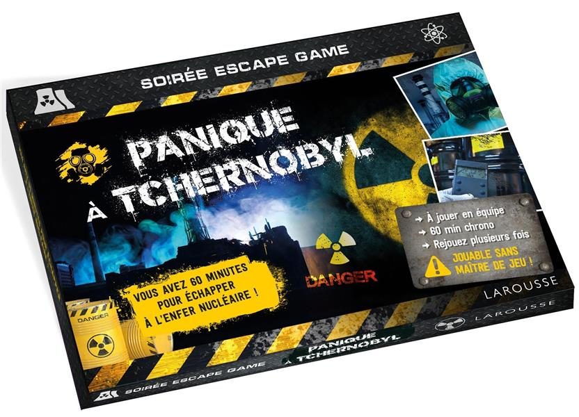 Soirée escape game ; panique à Tchernobyl