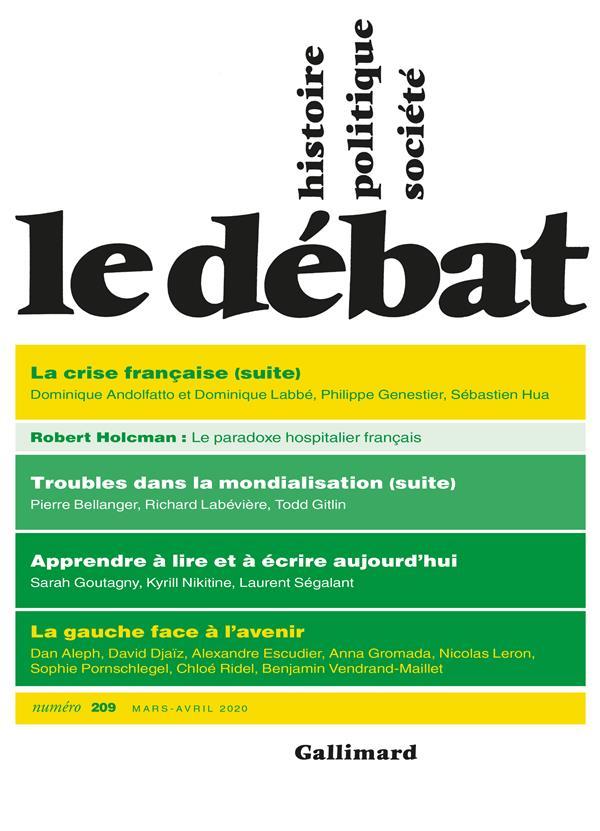 Revue le debat n.209 ; le debat
